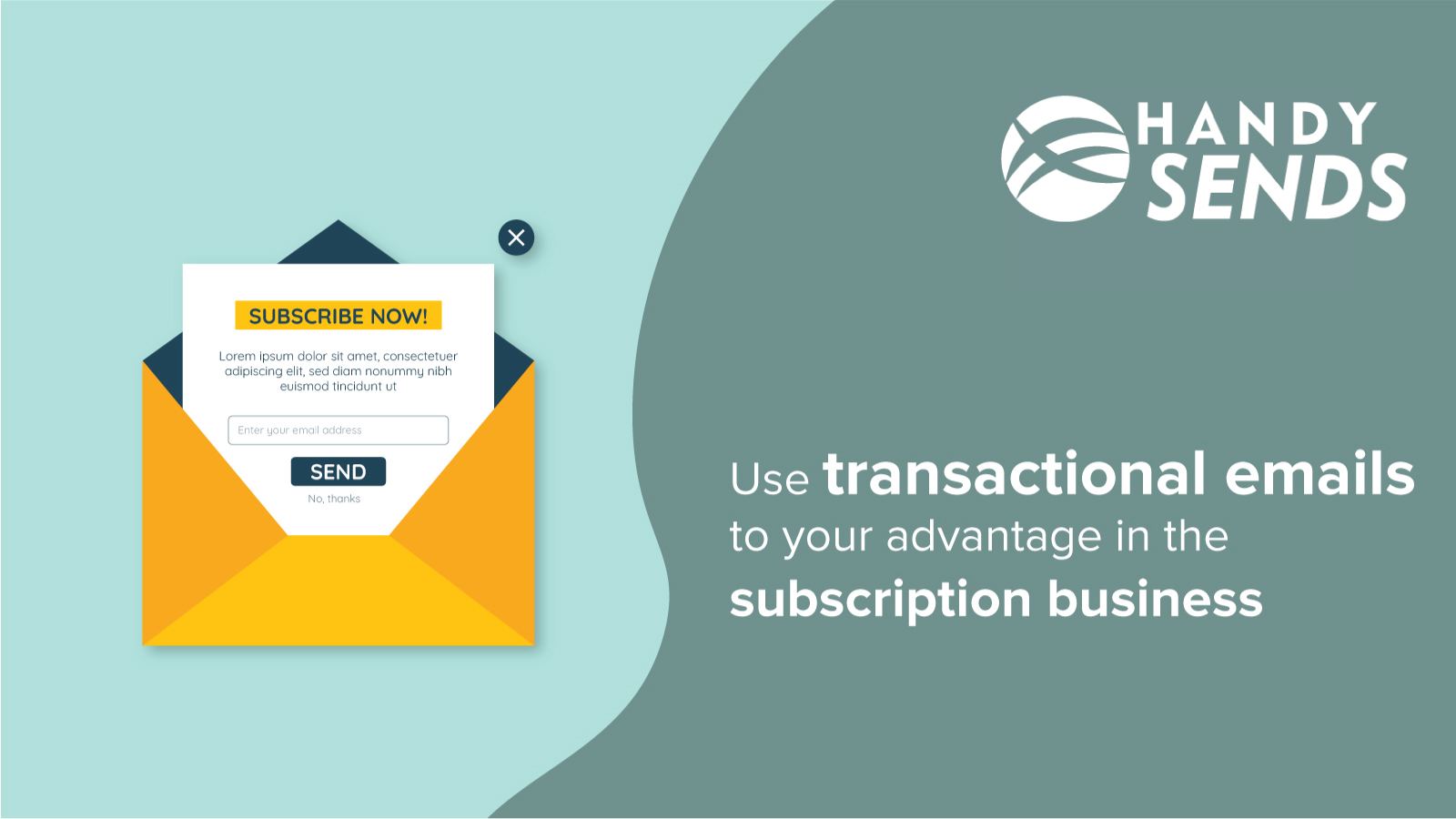Use transactional emails to your advantage in the subscription business