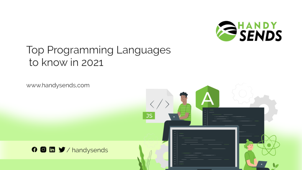 Top Programming Languages to know in 2021