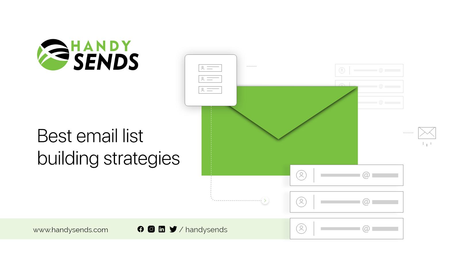 Best Email List building strategies